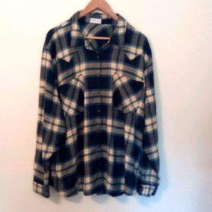 Maurices Plus Size 4 Flannel Shirt